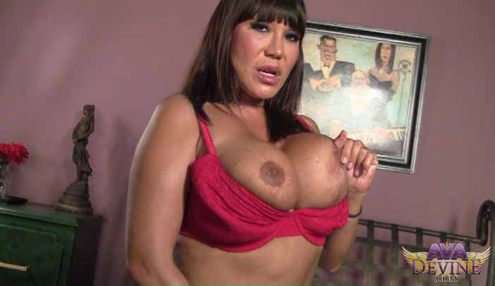 Horny Beauty Ava Devine Stripping on Webcam