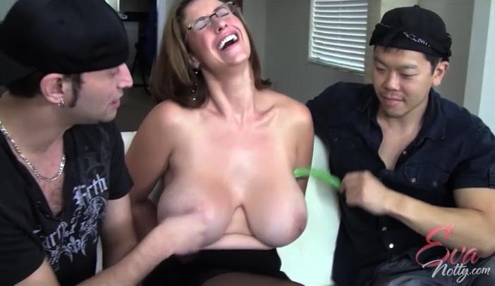 eva notty tickling
